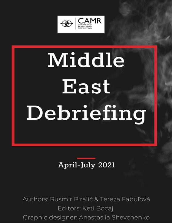 This is a quarterly debriefing on the most important developments in the geopolitical arena of the middle east. The authors have chosen to present highlights meant to provide with a general overview of what is happening in the region. Every information presented is properly cited and accompanied with the list of sources.